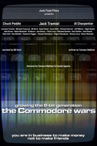 Commodore Wars Poster